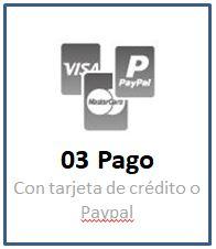 Tercer Paso: Elegir el medio de pago más conveniente para mi: Contado, Transferencia Bancaria o Tarjetas de Credito