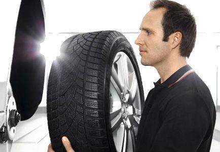Proceso de recambio de neumáticos